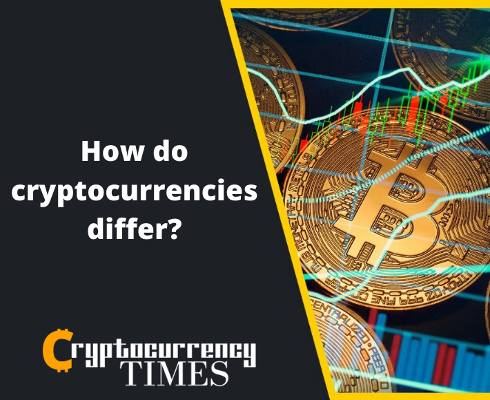 cryptocurrency difference