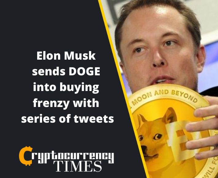 Elon Musk sends DOGE into buying frenzy with series of tweets